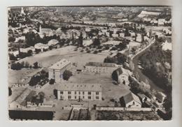 CPSM JAUSIERS (Alpes De Haute Provence) - En Avion Au-dessus .....les Casernes (du Bataillon De Chasseurs Alpins Dissous - France