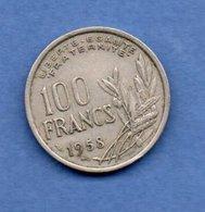 Cochet -  100 Francs 1958 B  -  état  TB+ - N. 100 Franchi