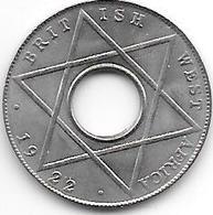 *britisch West Africa 1/10 Penny  1922  Km 7  Xf++ - Colonie