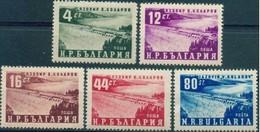 Kolarov Dam - Bulgaria 1952 - Set MNH** - 1945-59 People's Republic