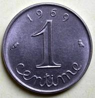 1 Centime Epi 1969 - A. 1 Centime