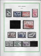 France Poste Aérienne - Collection Vendue Page Par Page - Timbres Neufs Neufs * - B/TB - Aéreo