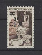 REUNION . YT 315 Neuf **  Porcelaine  1954 - Réunion (1852-1975)