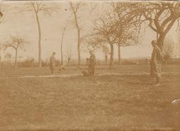 Photo 14-18 Chien D'une Section Sanitaire Ramenant Un Képi (A191, Ww1, Wk 1) - Guerra 1914-18