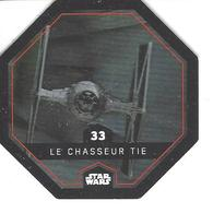 JETON LECLERC STAR WARS   N° 33 LE CHASSEUR TIE - Power Of The Force