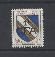 REUNION . YT 308  Neuf **  Champagne 1953 - Isola Di Rèunion (1852-1975)