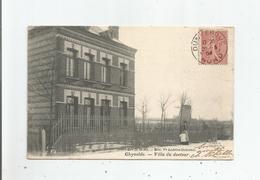 GHYVELDE (NORD) 10.861 VILLA DU DOCTEUR (MOULIN A VENT) 1904 - France