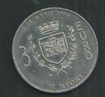 France. 3 Euros De Nyons (Drôme) - France