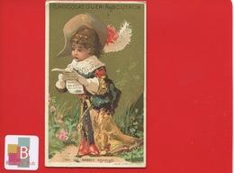 GUERIN BOUTRON  Chromo  Or  Vallet Minot Bonnes Nouvelles Lecture Lettre Style Louis XIII - Guerin Boutron
