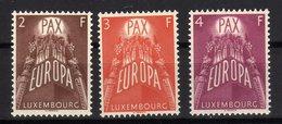 Luxembourg 1957 EUROPA The European Idea Mint - Europa-CEPT