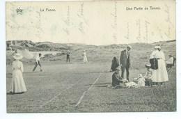 De Panne La Panne Partie De Tennis - De Panne