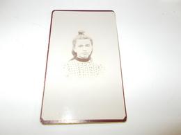 B688  Foto Cartonata Donna Cm6,5x10,5 - Fotografia