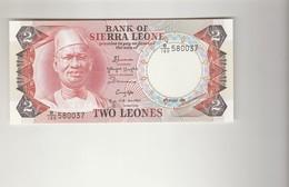 2 Leones Sierra Leone - Sierra Leone