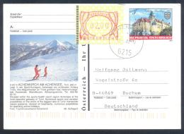 Austria PS  Postal Stationery 2002: Architecture Castle Rosenburg: ACHENKIRCH; Mountains Berge; Frama Label 2,00, Touris - Sonstige