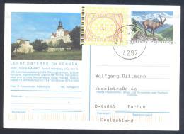 Austria PS Priority Postal Stationery 2002: Tourism Architecture Fauna Capricorn: KEFERMARKT; Frama Label 3,00 - Sonstige