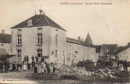 52 MERREY  Mairie Et Ecole Communale - France