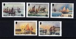 GB ISLE OF MAN IOM - 1981 DEEP SEA FISHERMEN SET (5V) FINE MNH ** SG 190-194 - Ships