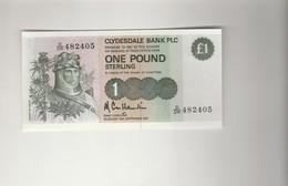 1 Pfund  Robert De Bruce  1987 UNZ - [ 3] Scotland