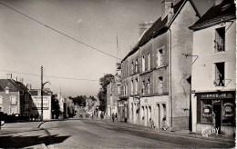 53  PRE-en-PAIL Rue Aristide Briand Vers Granville - Pre En Pail