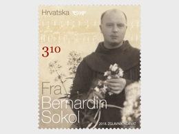 Kroatië / Croatia - Postfris/MNH - Fr. Bernardin Sokol 2018 - Kroatië
