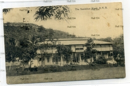 Malaya British North Borneo The Sandakan Hotel BNB Used Postcard - Malaysia
