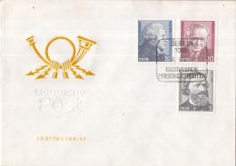 Oost-Duitsland - FDC 26-3-1974 - Bedeutende Persönlichkeiten (II) - M 1941-1943 - FDC: Briefe