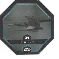 JETON LECLERC STAR WARS   N° 34  X - WING - Power Of The Force