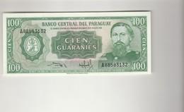 100 Guaranies Paraguay UNZ - Paraguay