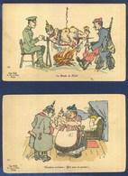 Illustrateur Illustration L.R. - Guillaume ???  La Dinde De Noël -  Dernières Révisions: Bon Pour Le Service ! - Guerra 1914-18