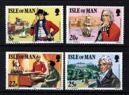 GB ISLE OF MAN IOM - 1981 WILKS SET (4V) FINE MNH ** SG 197-200 - Isle Of Man
