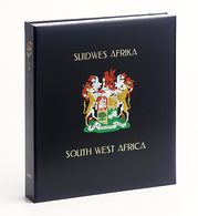Davo Luxe Postzegelalbum Zuid-West Afrika Namibie II 1990-2009 - Bindwerk Met Pagina's