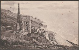 Old Rinsey Mine, Breage, Cornwall, 1918 - Argall's Postcard - Other