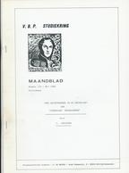 25/912 - BELGIQUE Magazine Studiekring Antwerpen 176/1988 - Brievenverkeer Republiek NEDERLAND , Door Jorissen , 22 Blz - Magazines