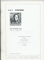 25/913 - BELGIQUE Magazine Studiekring Antwerpen 181/1988 - Spoorwegkantoor AVEKAPELLE 1914/1918 , Door Van San , 30 Blz - Magazines