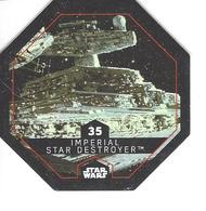 JETON LECLERC STAR WARS   N° 35  IMPERIAL STAR DESTROYER - Power Of The Force