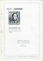 25/914 - BELGIQUE Magazine Studiekring Antwerpen 187+188 /1989 - Strafport In Bezet Belgie 1914/18, Door Ludwig , 64 Blz - Riviste