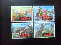 ZAMBIA ZAMBIE 1972 Conservación De La Naturaleza Yvert N 85 / 88 ** MNH - Zambia (1965-...)