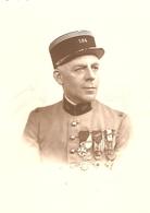 Photographie Militaire, Capitaine Du 184e D'artillerie De Valence (RALT), Photo Vers 1930, Médaille, Décoration - War, Military