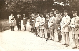 Photographie Militaire, Officiers Du 184e D'artillerie De Valence (RALT), Photo Louis De 1931, Colonel Beff - War, Military