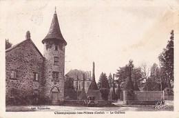 Champagnac Les Mines Le Chateau Edit Teyssoudier - France