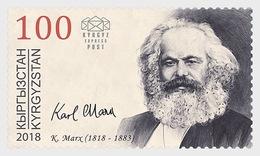 Kirgizië / Kyrgyzstan - Postfris/MNH - Karl Marx 2018 - Kirgizië