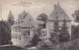 En Auvergne Chateau De Fabregue Pres Aurillac M De Parieu Facade Nord - France