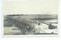 Zeebrugge( 2 Fotokarten ) Canon Kanon En  Intrepid - Zeebrugge