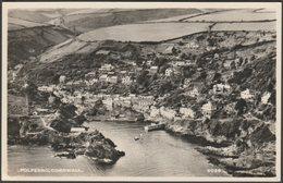 Polperro, Cornwall, C.1955 - Aero Pictorial RP Postcard - England
