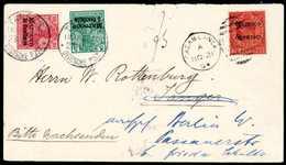 Beleg 5 C. Und 10 C. Mit Klarem Stempel TANGER MAROCCO 23/11 04 Als Nachsende-Frankatur Auf Aus Casablanca Eingegangenem - Briefmarken