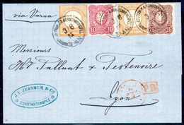 Beleg ½ Gr., Zwei Exemplare Mit 10 Pfge. Lilarot Und 25 Pfge. Lilabraun, Beispielhaft Frische Kabinettstücke, Dekorativ  - Briefmarken