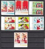 China Nº 1976 Al 1982 - 2 Series - Nuevos