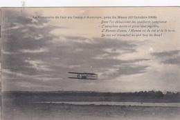 LA CONQUETE DE L AIR AU CAMP D'AUVOURS PRES DU MANS 10 OCTOBRE 1908 - ....-1914: Précurseurs