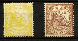 España Nº 143, 147. Año 1874 - Neufs