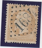 10 C Bistre GC 1684 (Gouzeaucourt) B/TB. - 1862 Napoléon III